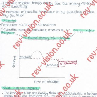 Endothermic / Exothermic Reactions 1